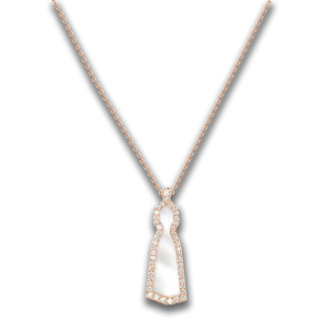 Female of Light- Collier (Pearl / Frame Diamond)