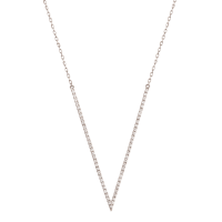 BIG V NECKLACE
