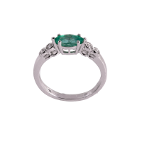 Green Oasis Emerald Ring