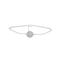 C'est Moi Gold and Round-Cut Diamond Bracelet