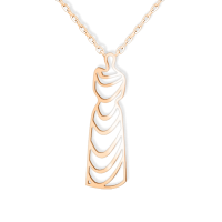 Female of Light- Collier Long (Gold Pendant)