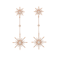 LONG 2 SUN EARRINGS