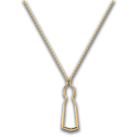 Female of Light- Collier (18K Pendant)