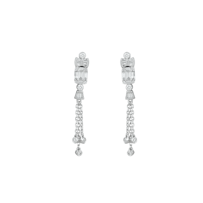 Meteor Diamond Earrings