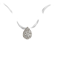 Touch Me Pear-Shaped Diamond Choker Necklace