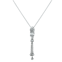 Meteor Diamond Necklace